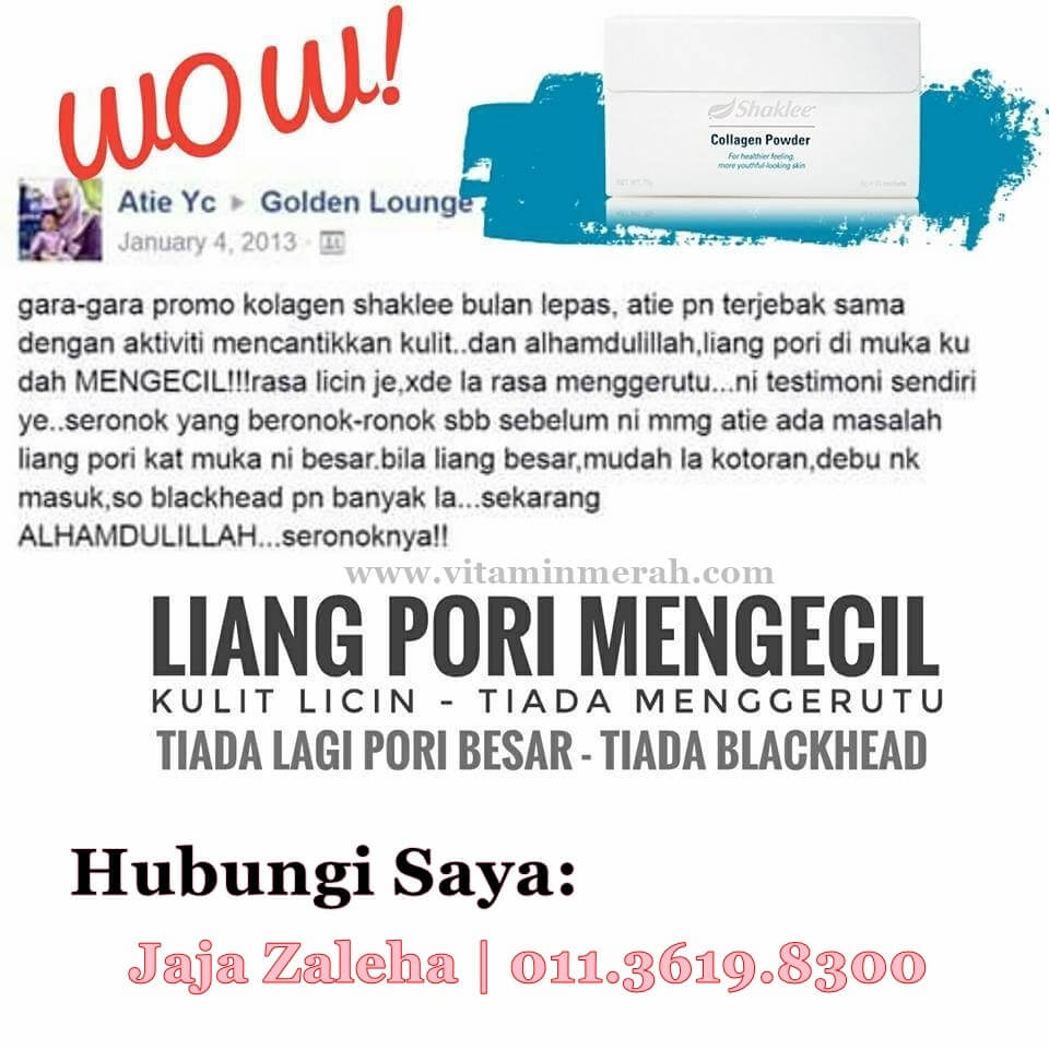 testimoni collagen powder shaklee 4