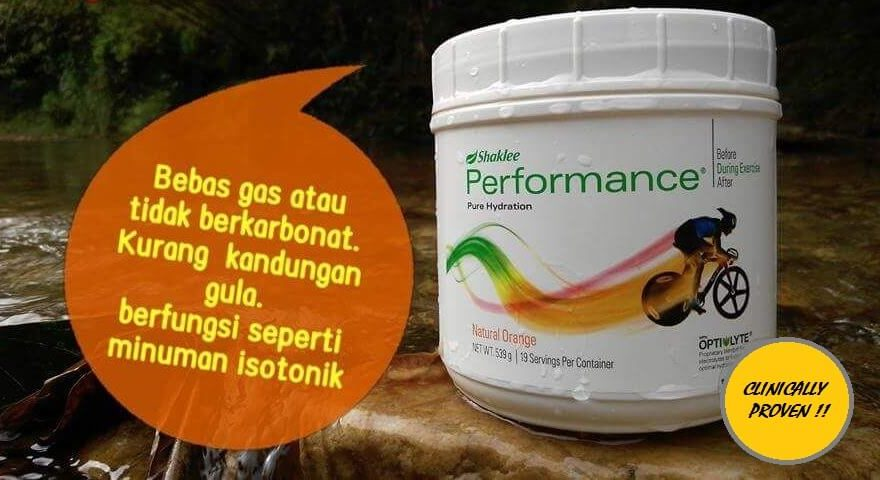 kebaikan performance drink shaklee